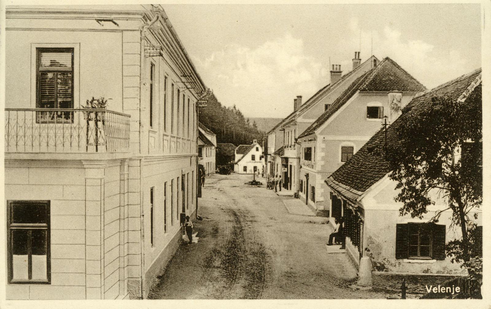 Mlinškov zapis o zgodovini trga
