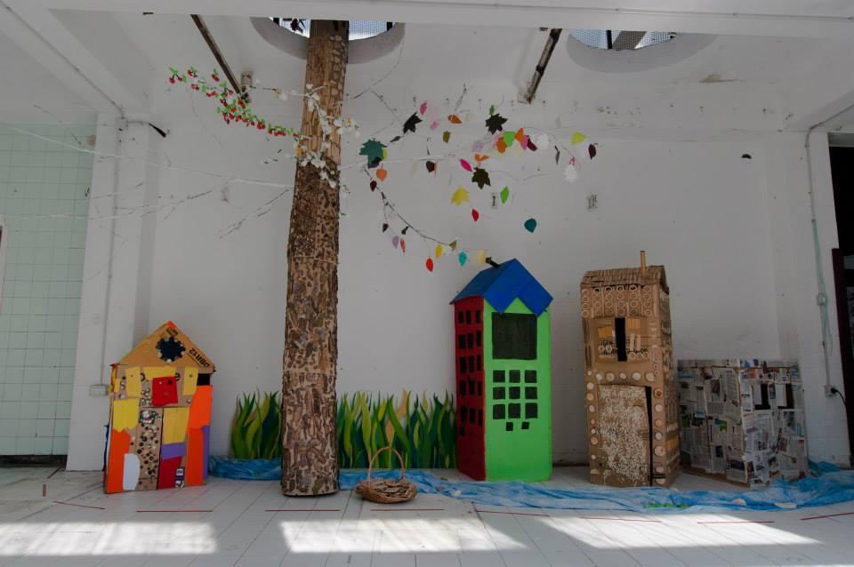 V Pekarni je prevzemala tudi otroška ustvarjalnost