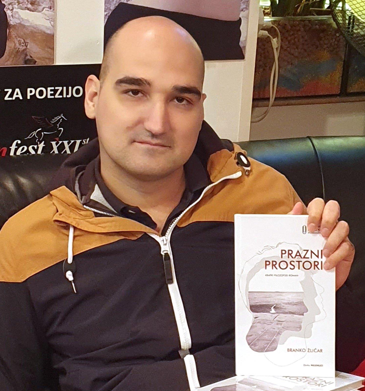 Starovelenjčan Branko Žličar je izdal literarni prvenec