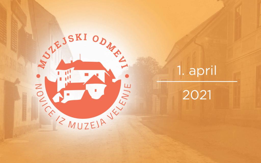 Muzejski odmevi: Velikonočni prazniki z Muzejem Velenje in akcija »Pokličite kustosa!«