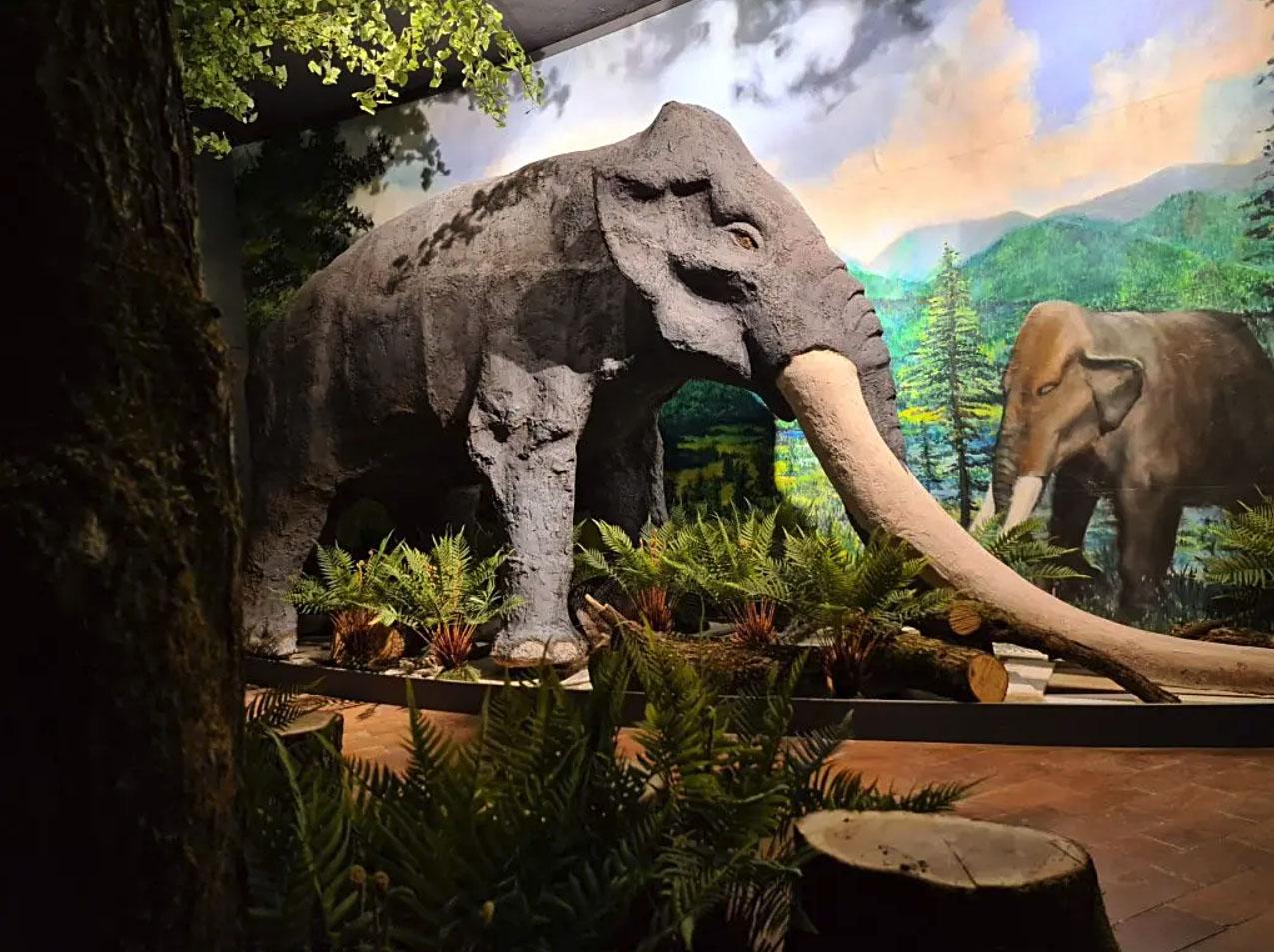 Mastodont na obisku: počitniška delavnica