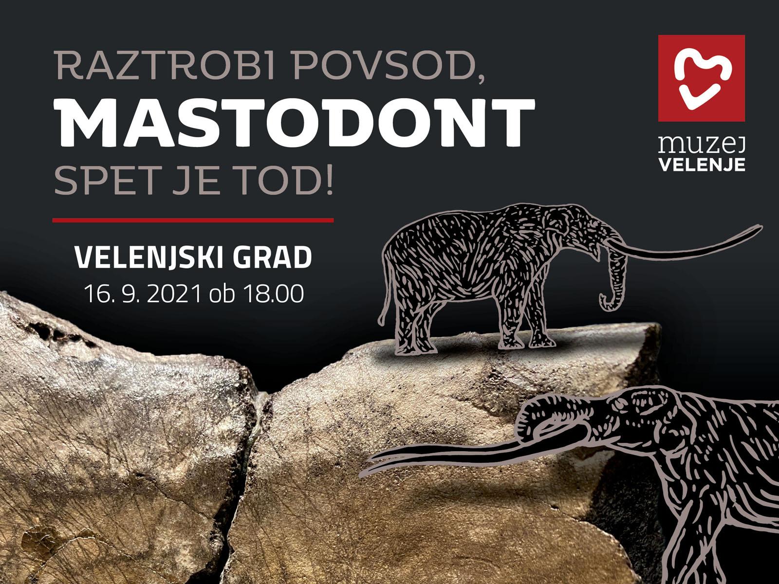 Mastodont se je vrnil na Velenjski grad
